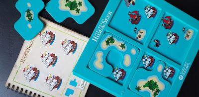 Escondite en la isla - smart games juego de mesa hide&seek pirates