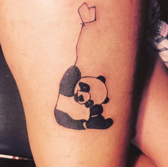 8cb7b3c2c 3. Panda is used as logo by many wildlife conservation organizations. If  you support panda conservation then get a tattoo of their logo.
