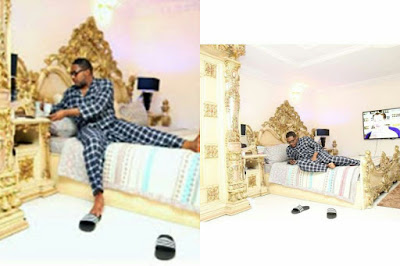 Photos of E-money's bedroom