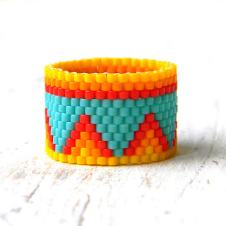 купить кольцо из бисера интернет магазин авторских украшений ручной работы