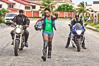 Chioma Chukwuka Akpotha goes gangsta
