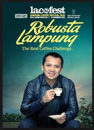 Festival Kopi Lampung 2016 (Lacofest 2016): Dari Industri Kreatif, Pariwisata dan Kuliner Unggulan