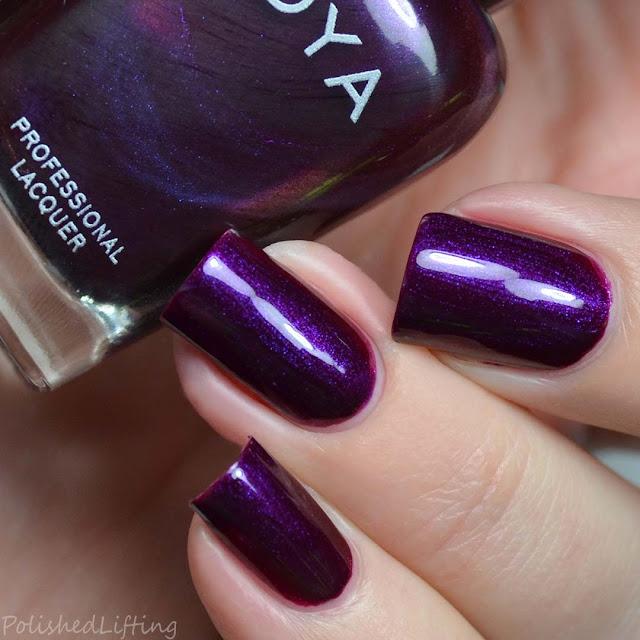plum pearl nail polish