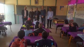 السيد المدير الإقليمي في زيارة تفقدية لفرعية أولاد سلامة بمجموعة مدارس أولاد العافية