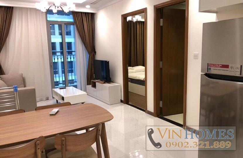 Cho thuê căn hộ cao cấp 1PN Vinhomes Central Park tầng cao L5 - hinh 2