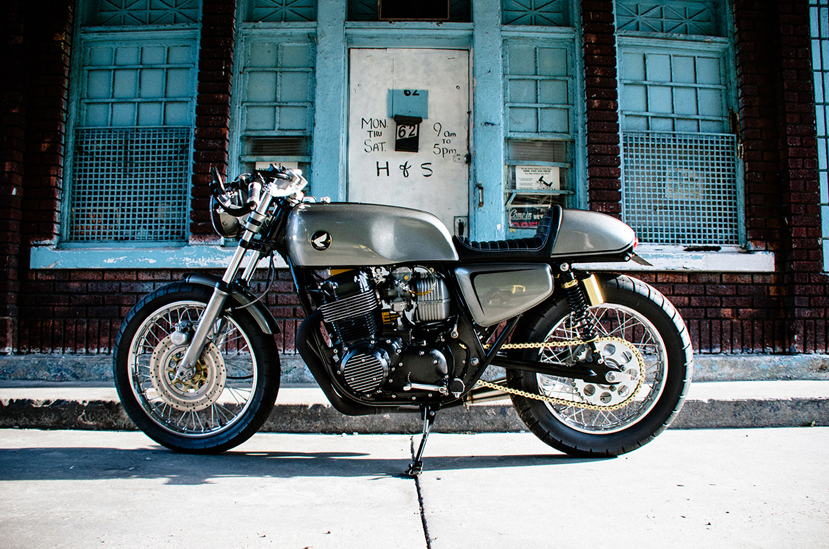 Wheeled Delicacy Nox Cb750 Cafe Racer Return Racers