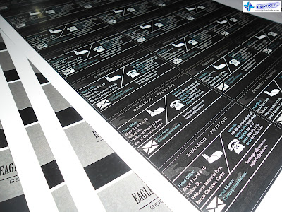 Business Cards for Eagle Sole Incorporated