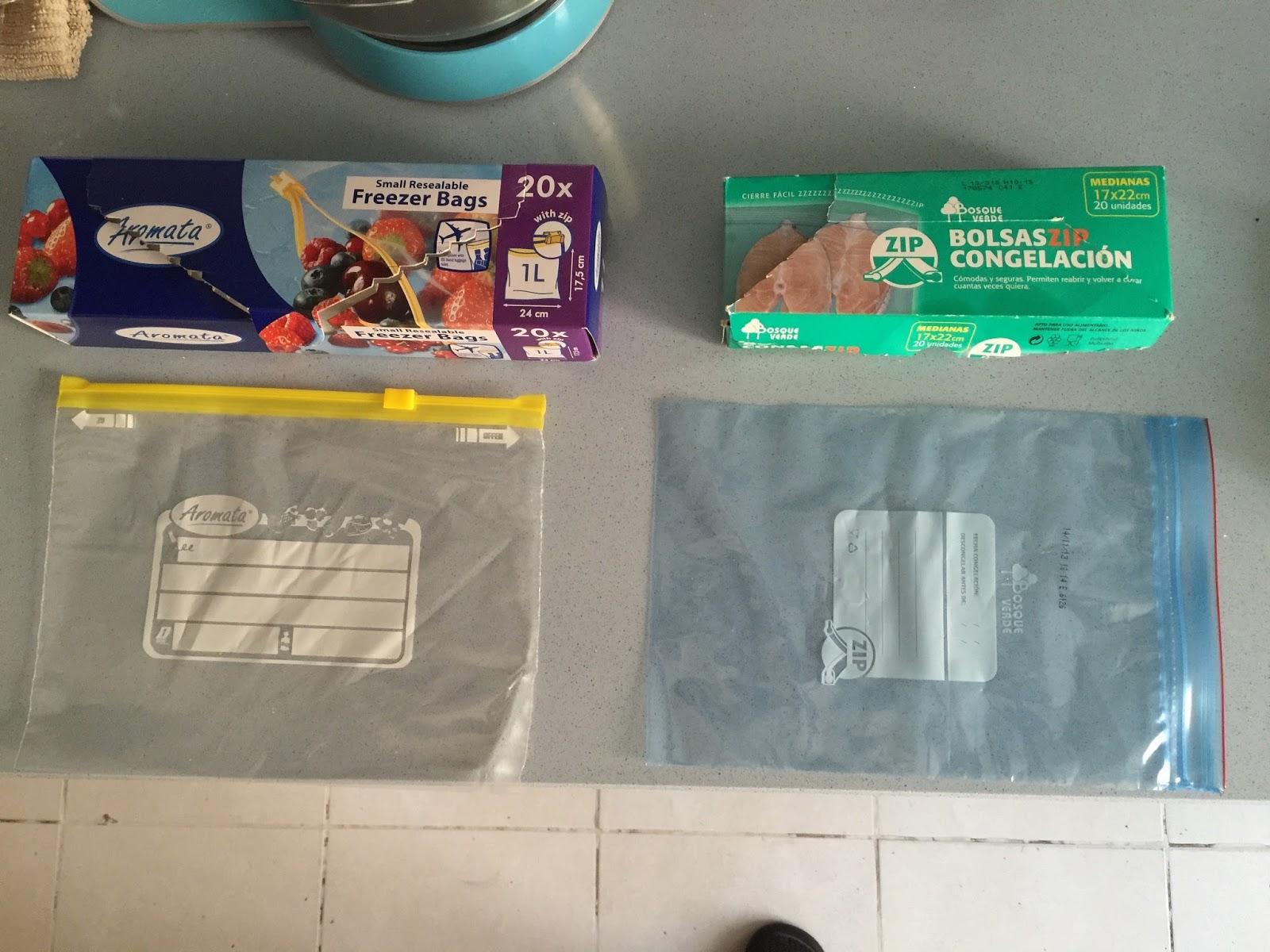 Makeup el sitio de mi recreo organizandonos en la cocina - Bolsas congelacion ...