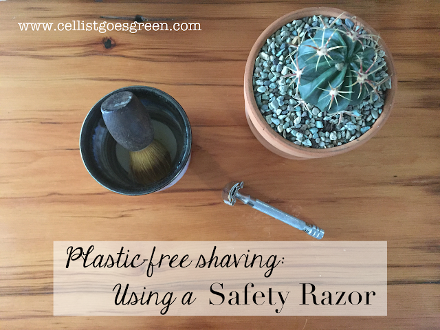Plastic free shaving: Using a Safety Razor