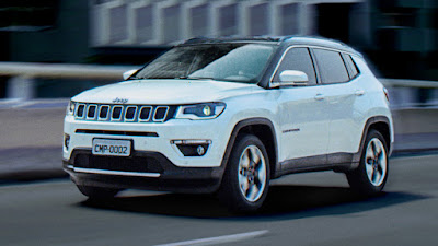 2017 Jeep Compass SUV Front look