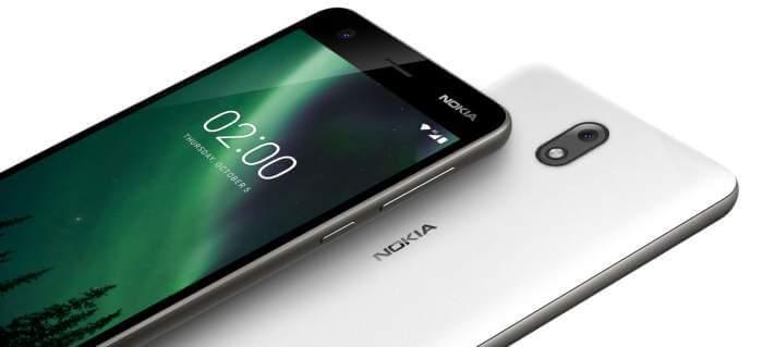 Layar Nokia 2