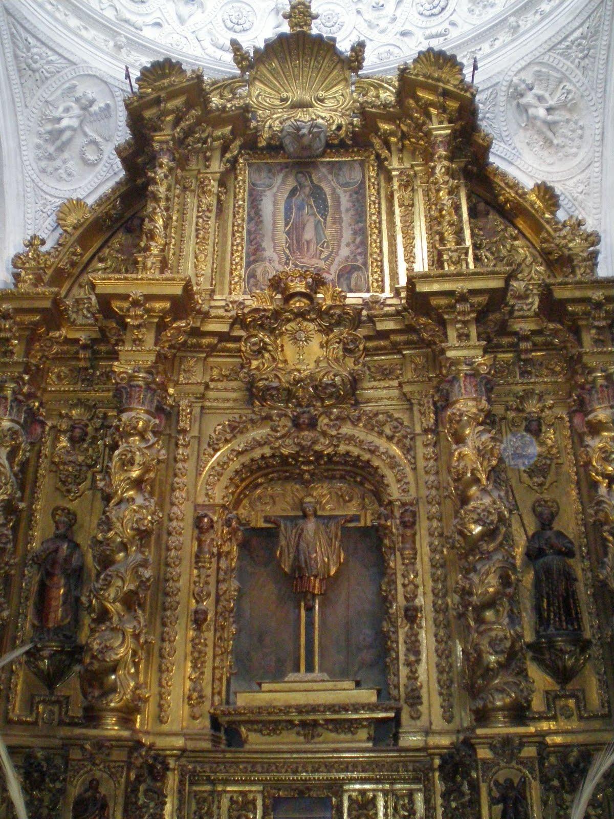 La Virgen De Guadalupe En La Catedral Seo De Zaragoza Espana En La