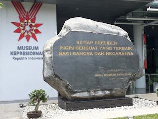 Prasasti Museum Kepresidenan RI Balai Kirti Kota Bogor