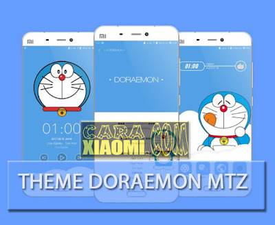 Theme Doraemon Mtz For MIUI Xiaomi Latest Update