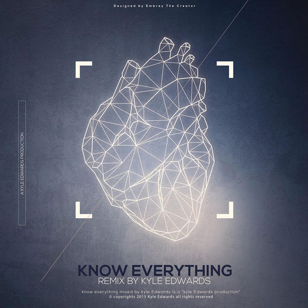 Kyle Edwards - Know Everything (Jersey Club) [feat. DJ Bake] - Single Cover