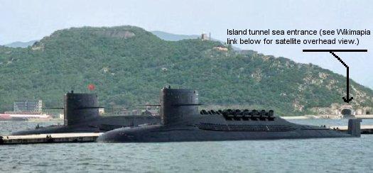 Submarine Halibut SSN 587: Chinese Jin Class Type 094 SSBN