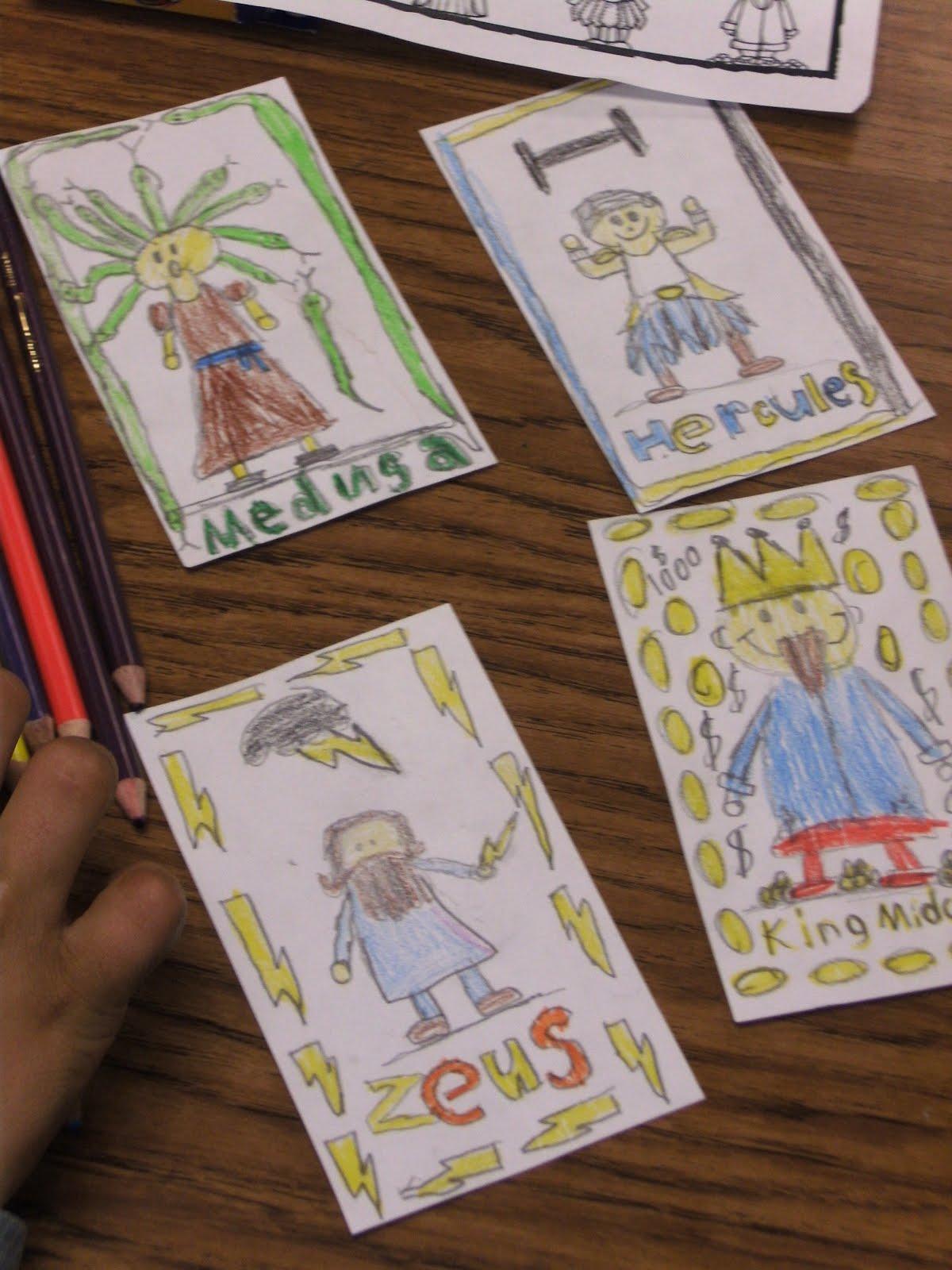 Teaching With Blonde Ambition More Greek Mythology Fun