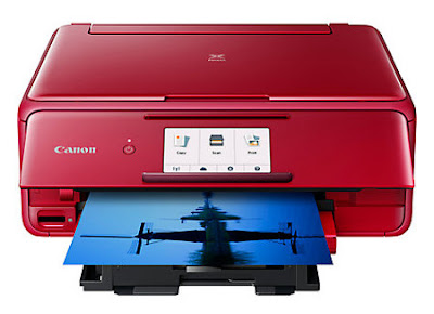 multifunction device comes inward 3 trunk colors amongst the same features too functionality  Canon Pixma TS8152 Driver Download
