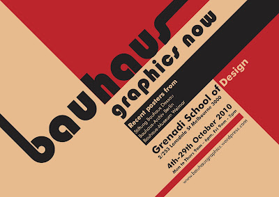 Historia del cartel bauhaus