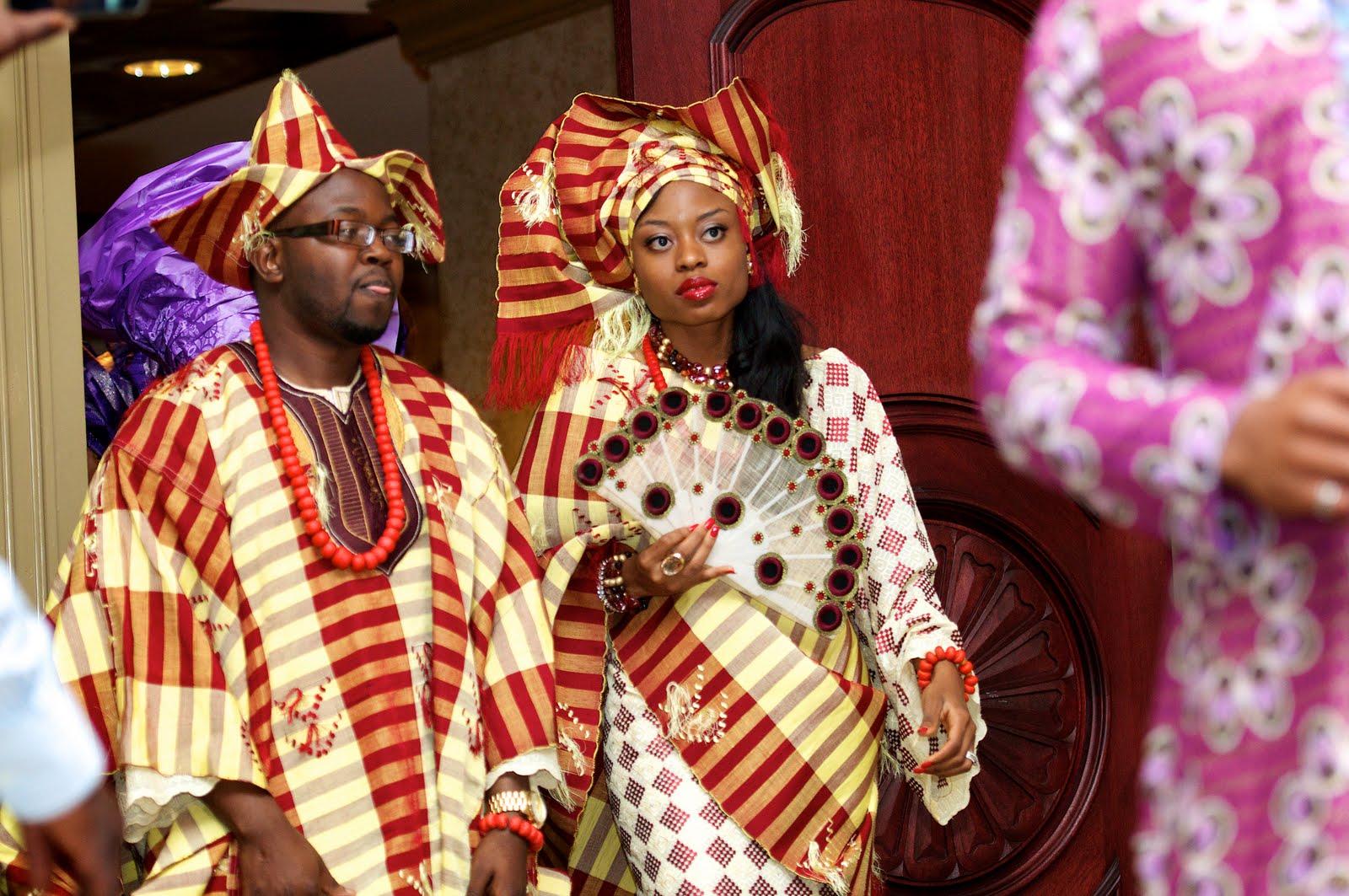 Nigeria Traditional Wedding Dress