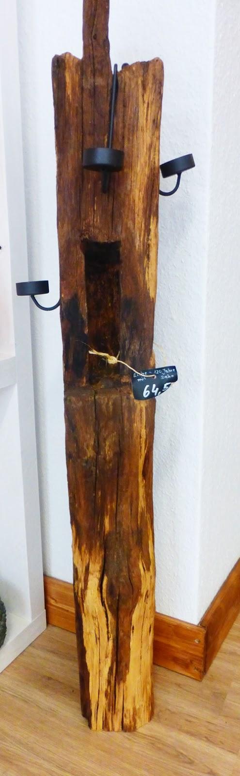 Kunsthandwerk Hunsrück Laterne Eichenholz