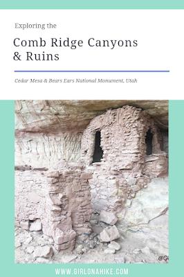 Exploring the Comb Ridge Canyons & Ruins, Cedar Mesa