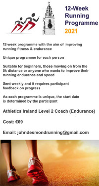 12-Week Training Programmes for 2021
