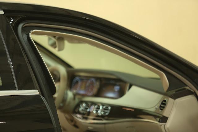 Armored Benz Sedan