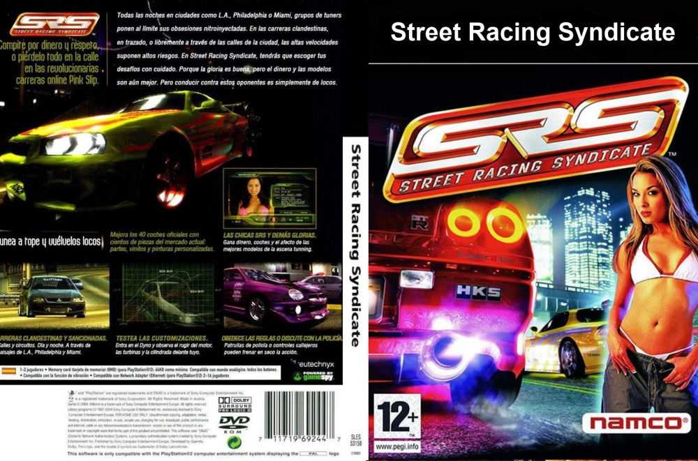 Street Racing Syndicate Download Poster