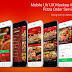 Inkscape Design Inspiration ~ Pizza Order Service iOS Mobile UI