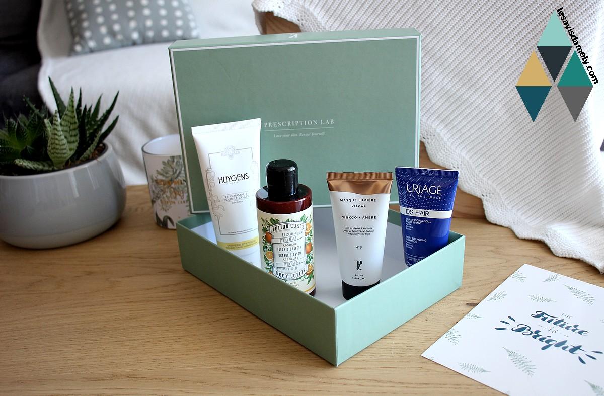 revue beauté produits soins box mensuelle prescription lab