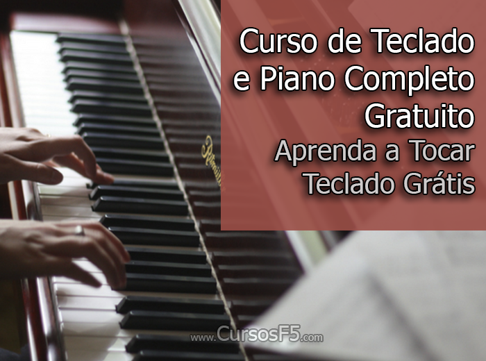Curso de Teclado e Piano Completo Gratuito | Aprenda a Tocar Teclado Grátis