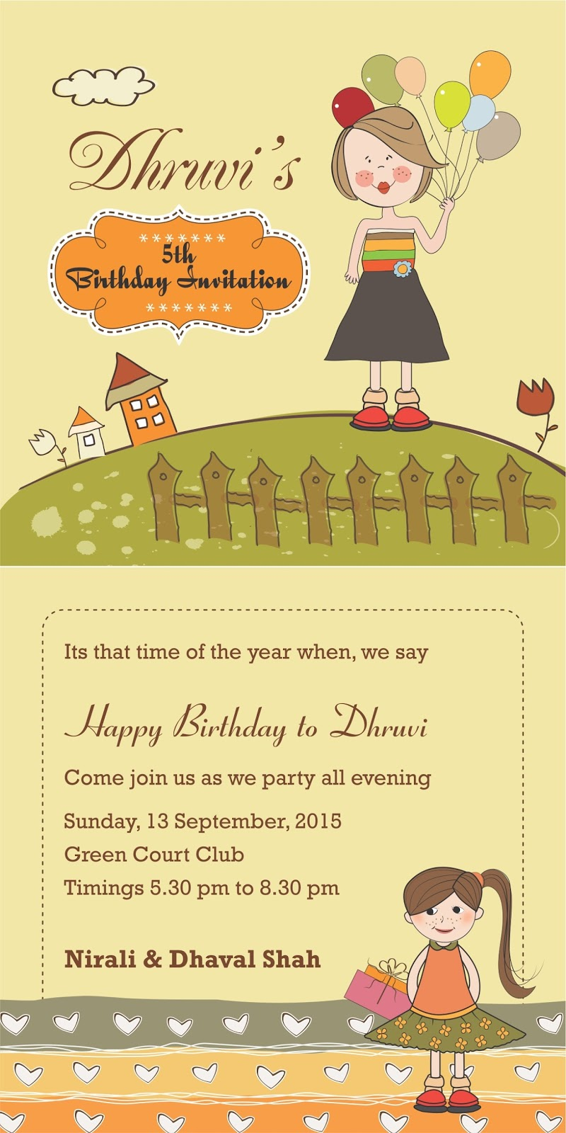 Whatsapp message for birthday invitation stopboris Image collections