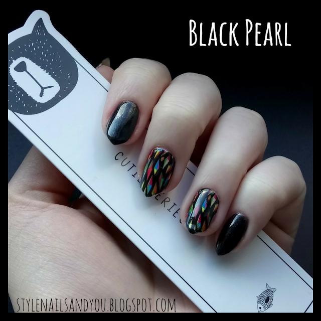 Black Pearl - naklejki wodne.