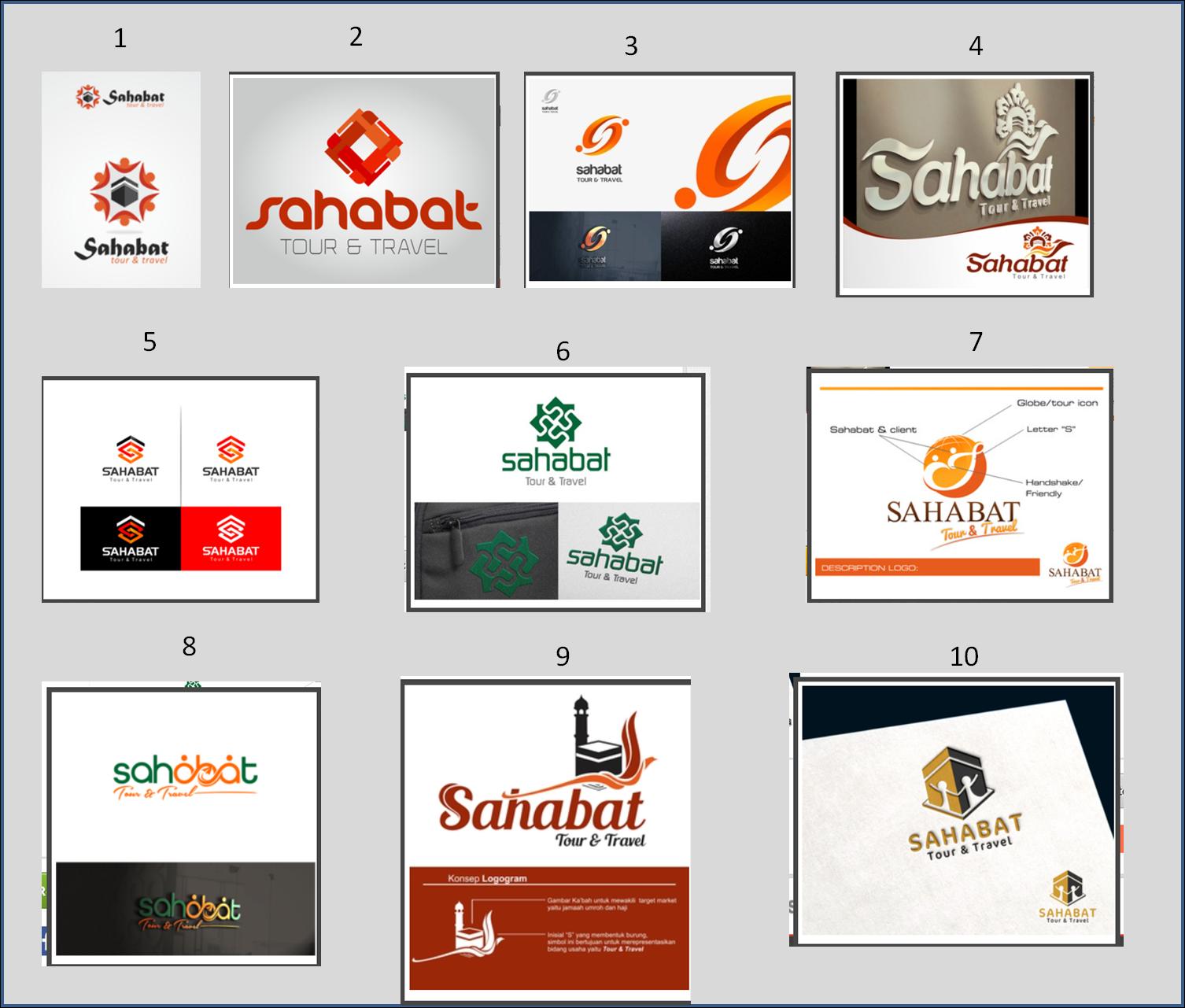 Inspirasi Komentar Tentang Logo Sahabat Tour Travel