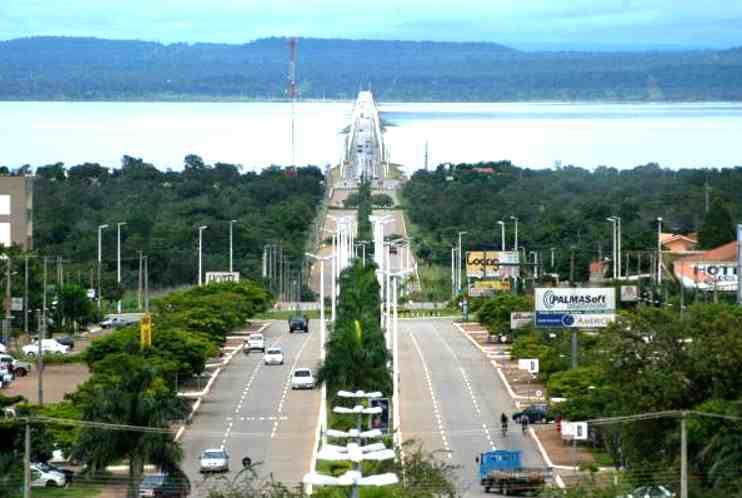 Palmas, a Capital do Estado de Tocantins