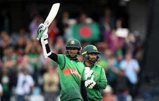 Bangladesh record 2nd Highest Successful Chase in World Cup history