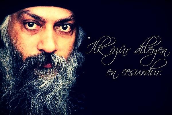 OSHO, osho sözleri, güzel sözler, özlü sözler, anlamlı sözler, sakal, sakallı adam