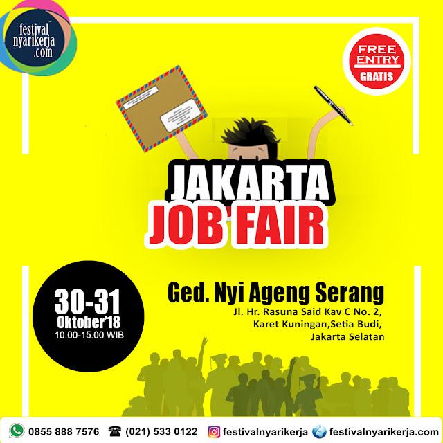 Job Fair Gedung Nyi Ageng Serang, Kuningan Jakarta Selatan