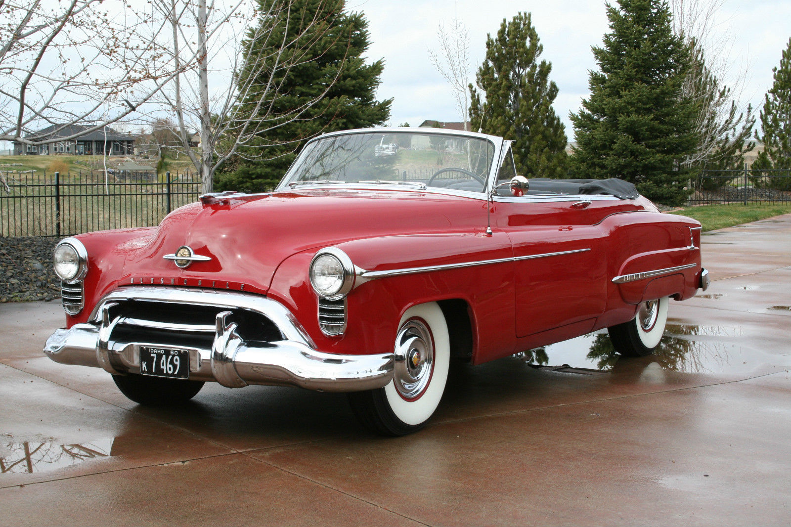 All american classic cars 1950 oldsmobile 98 deluxe 2 for American classic cars