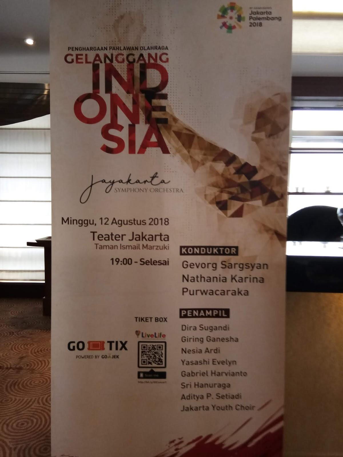 Ramuan Rasa Di Konser Gelanggang Indonesia Mba Diah Woro