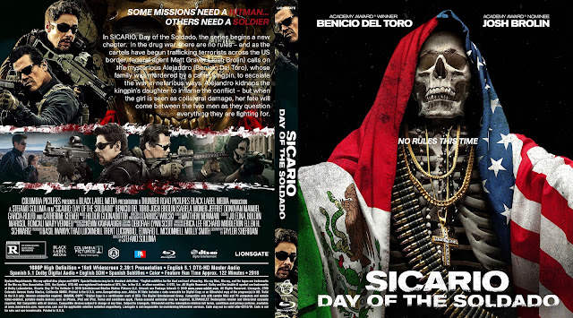 Sicario: Day of the Soldado Bluray Cover