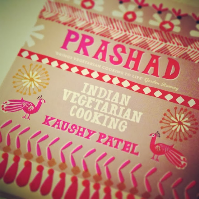 Prashad Vegetarian Indian Cooking - new cook book