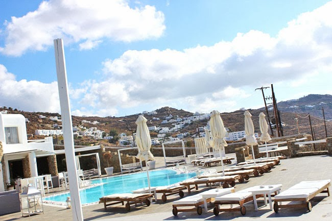 Rocabella Mykonos Art Hotel & SPA otvoreni bazen