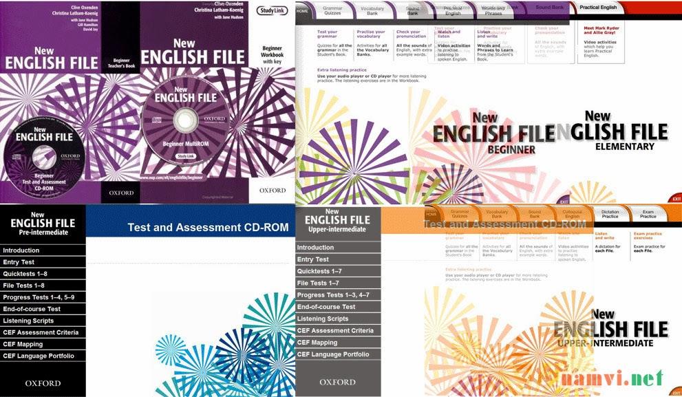 giao trinh new english file