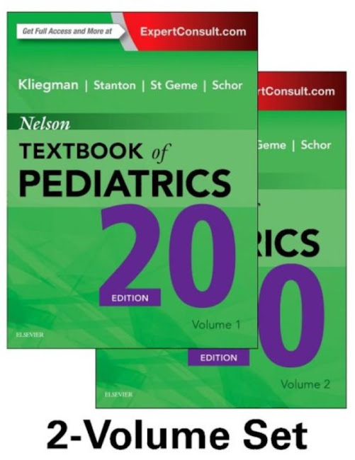 Nelson Textbook of Pediatrics 2 Volume Set 20th Edition