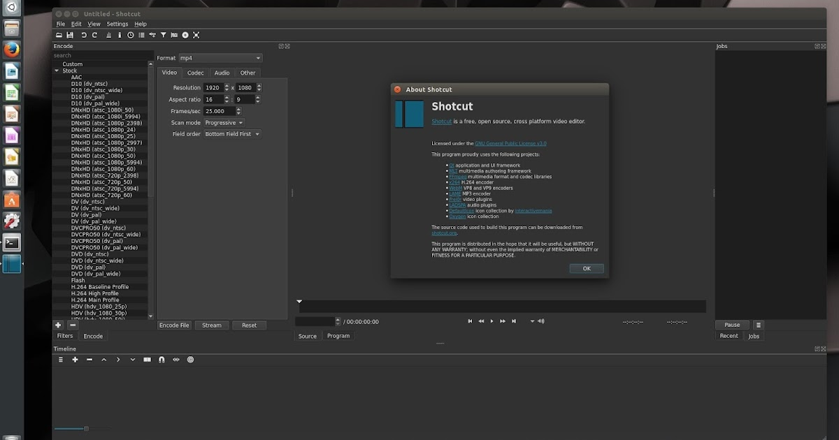Shotcut' Video Editor (4K Supported) New Version Released, Available