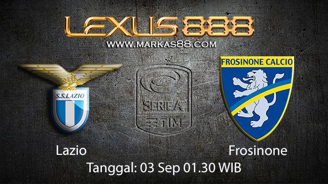 Prediksi Bola Jitu Lazio vs Frosinone 3 September 2018 ( Italian Serie A )