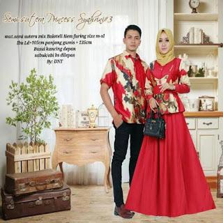 baju couple lebaran tahun 2018