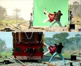 यह तस्वीरें बताती हैं कि modren जमाने में फ़िल्में किस तरह से शूट होती हैं (Reality Of Indian Cinema Most Interesting Images In Hindi) , Hindi cinema images in hindi, most interesting images in hindi